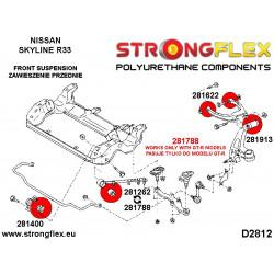 211449A: Rear transverse arm bush SPORT