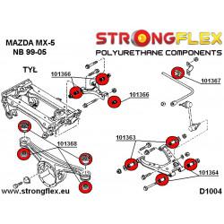 121472B: Tuleja wahacza przedniego przednia 14mm