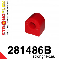 121505B: Tuleja wahacza przedniego tylna