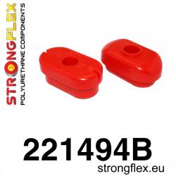 121506B: Tuleja mocowania przedniego dyferencjału 70mm