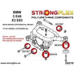 121515B: Tuleja mocowania silnika górna, prawa i lewa strona