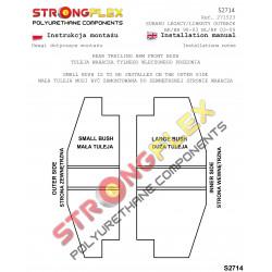 071475A: Tuleja wahacza przedniego przednia 14mm SPORT