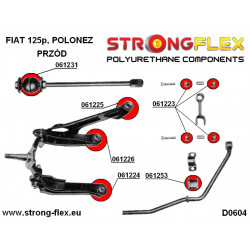 086058A: Zestaw poliuretanowy stabilizatora drążka zmiany biegów SPORT