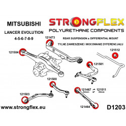 136059A: Front suspension bush kit SPORT