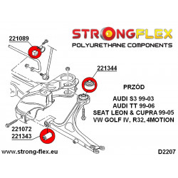 276077A: Full suspension bush kit SPORT