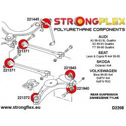 Buchsensatz Stabilisator und Koppelstange hinten SPORT