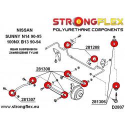 286088B: Zestaw tulei tylnego wózka