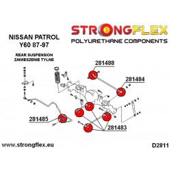 066042B: Front anti roll bar bush kit polyurethane