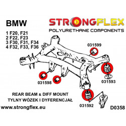 081543A: Front lower wishbone front bush SPORT