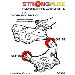 061340A: Wkładki poduszki silnika SPORT