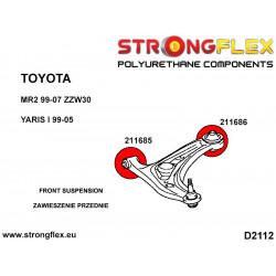 211633A: Rear upper wishbone bush SPORT