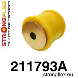 Buchse Hinterachsträger Aufhängung, Tonnenlager 52mm