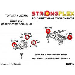 011189A: Rear suspension rear arm bush SPORT