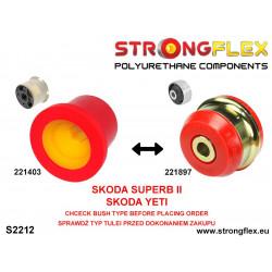 031736A: Rear diff mount - front bush SPORT