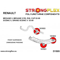 086170A: Rear suspension bush kit SPORT