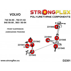 036191A: Zestaw tulei tylnego wózka E39 Touring SPORT
