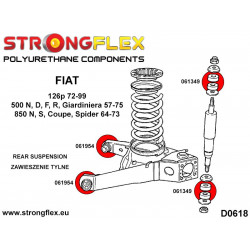 086169B: Front suspension bush kit
