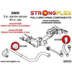221384A: Front anti roll bar inner bush SPORT
