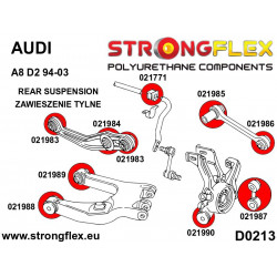 111821A: Tuleja stabilizatora tylnego SPORT