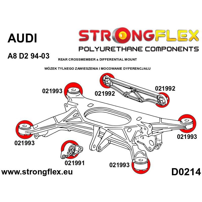 111823A: Rear subframe - rear bush SPORT