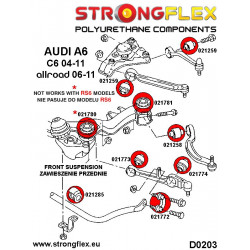 111814B: Front anti roll bar - inner bush