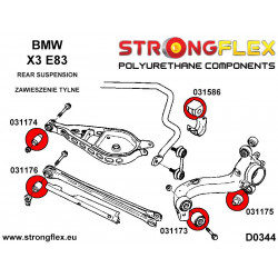 216227A: Steering rack bush kit SPORT