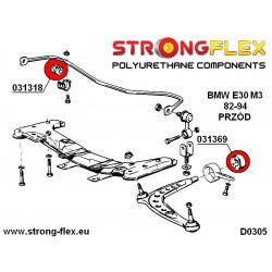 116224A: Full suspension bush kit SPORT