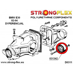 211865A: Rear diff mount - front bush SPORT