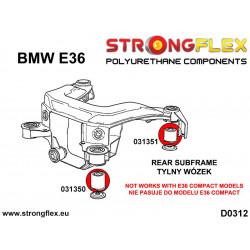 211867A: Rear diff mount - rear bush SPORT