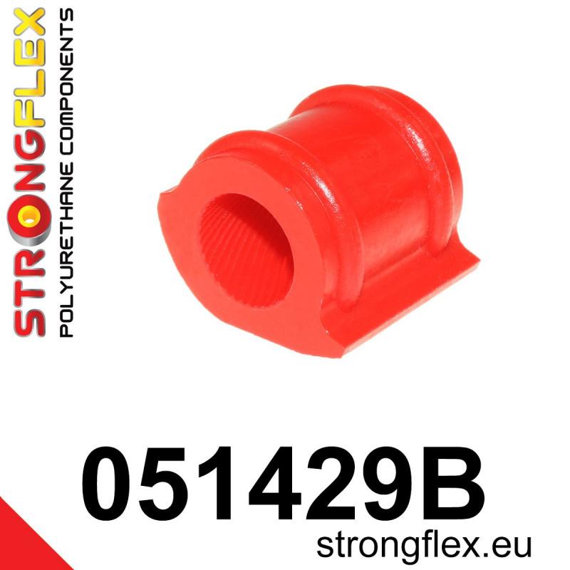 011872B: Rear trailing arm - front bush - Polyurethane strongflex eu