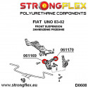 036119B: Zestaw tulei tylnego wózka E46