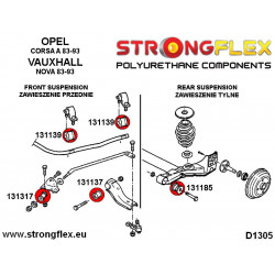 211892A: Tuleja stabilizatora tylnego SPORT
