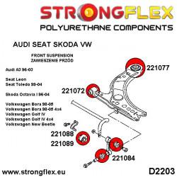 016079A: Full suspension bush kit SPORT