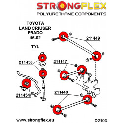 226209B: Full suspension bush kit