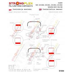 111882B: Tuleja łącznika stabilizatora przedniego
