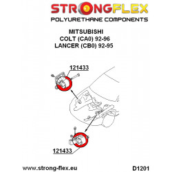 151938A: Tuleja wahacza przedniego - tylna 70mm SPORT
