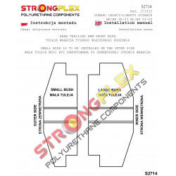 061953B: Tuleja wahacza przedniego - wewnętrzna