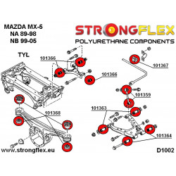 016244A: Full suspension bush kit SPORT