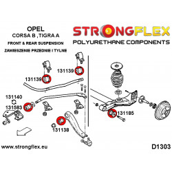 226017B: Front suspension bush kit
