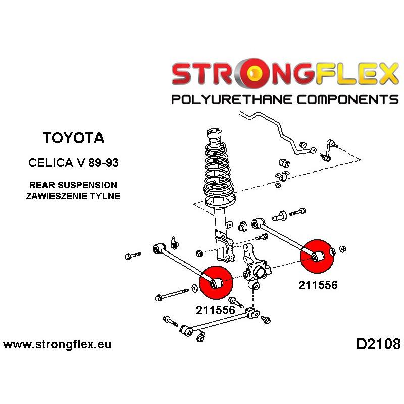 031935A: Tuleja wahacza przedniego 66mm - wahacz custom SPORT