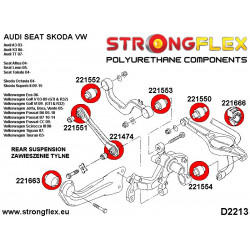 221077A: Front wishbone rear bush SPORT