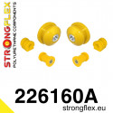 226121A: Full suspension bush kit SPORT