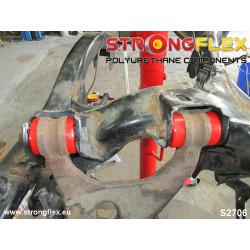 026080B: Zestaw poliuretanowy zawieszenia przedniego