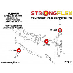 216236A: Full suspension bush kit SPORT