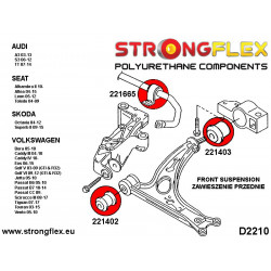 216239A: Zestaw tulei tylnego wózka SPORT