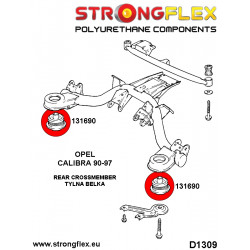 211849B: Rear subframe - front bush