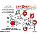 116245B: Rear subframe bush kit